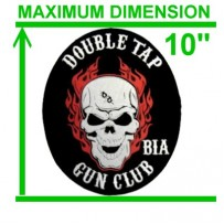 "Custom Back Patch - up to 10"" (as low as $17.50)"