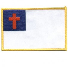 $12 REORDER- CUSTOM Christian Flag patch